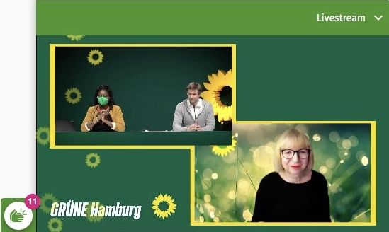 GREEN candidate for the German parliament
